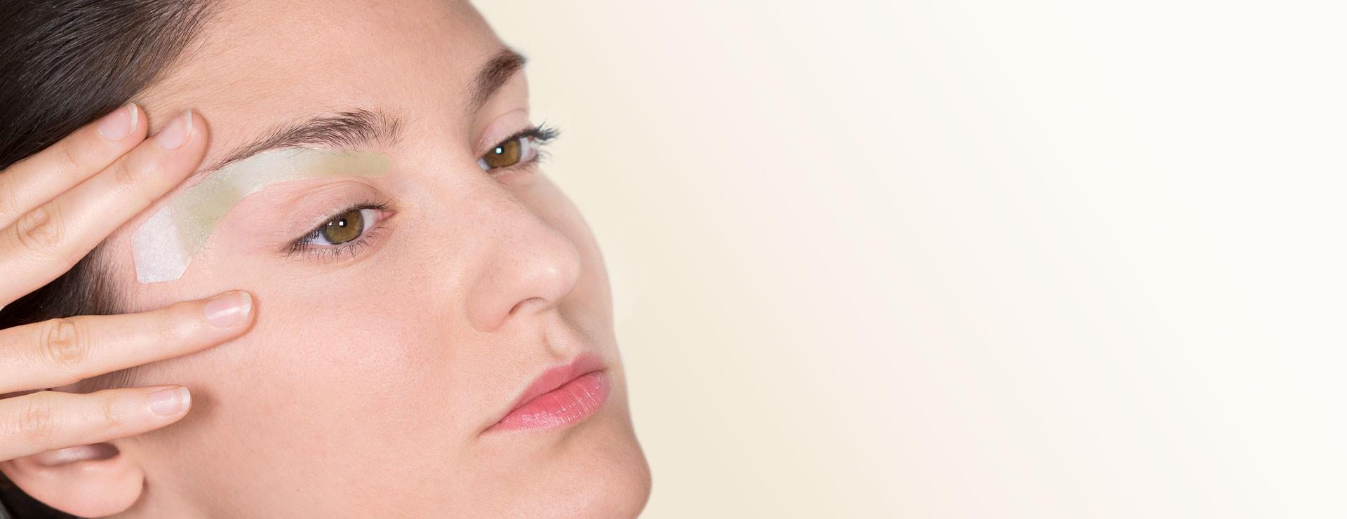 Strisce depilazione sopracciglia e baffetti